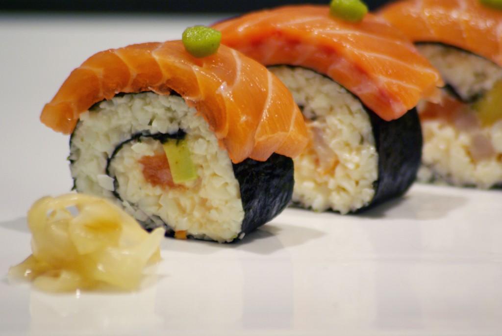 Sushi fake